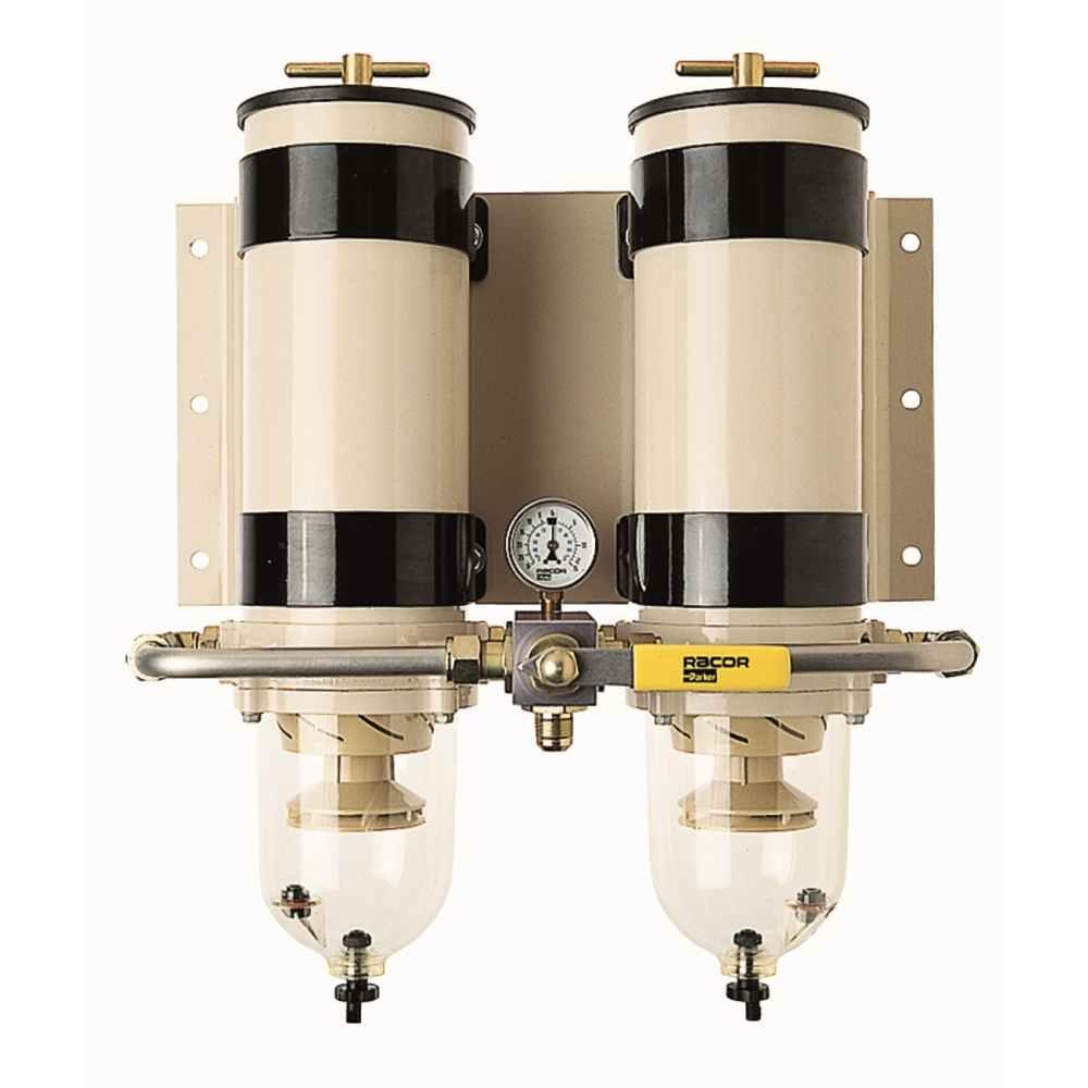 Filter Filter mit Wasserabscheider Typen Eco-Line Abscheider versch